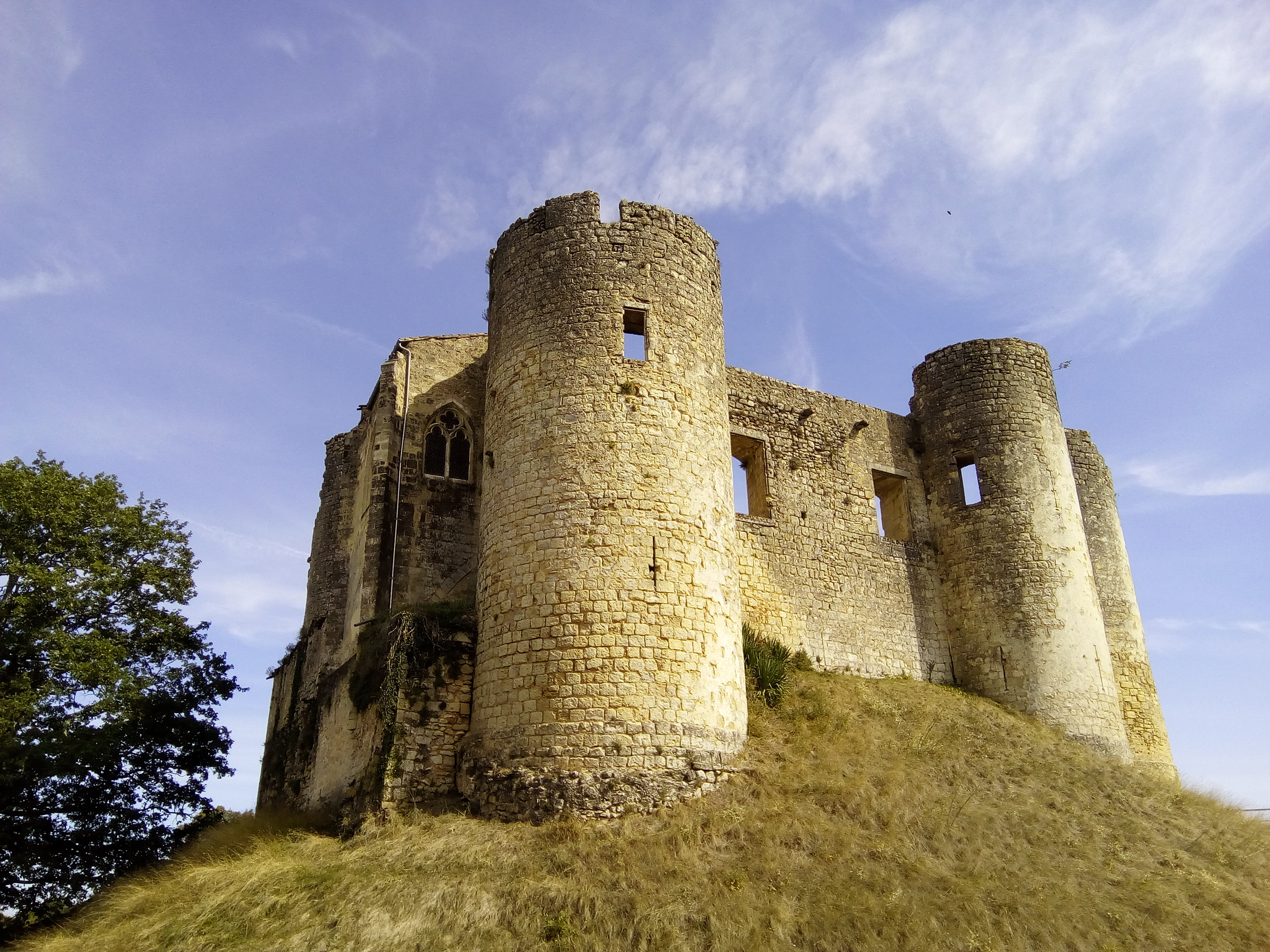 french medieval castle