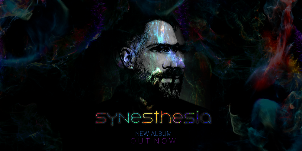 """My first artist album """"Synesthesia"""" is out today. Feel free to take the album tour by clicking hear to watch all the videos!"""