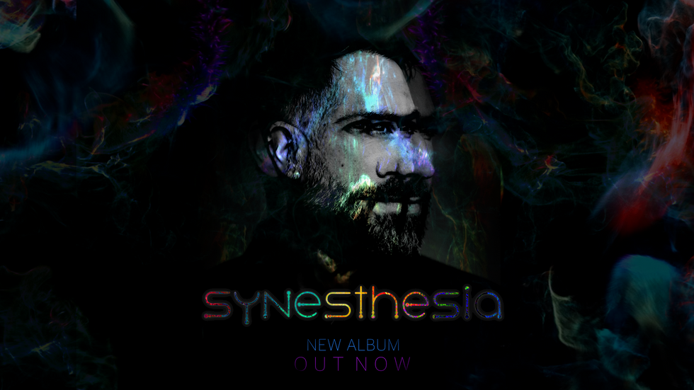 """Synesthesia"" my first artist album is out today! Click here to see all the videos for eac"