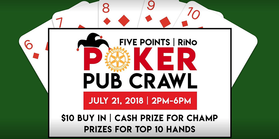Five Points   Rino Poker Crawl - Open to Public!