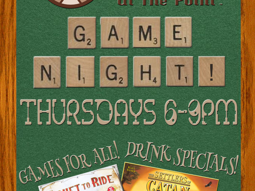 Game Night Thursdays