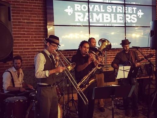 Royal Street Ramblers Perform May 19th!