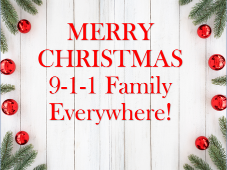 My Christmas Wish for the 911 Family