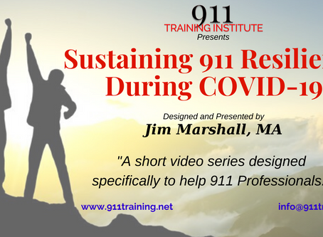 Sustaining 911 Resilience During COVID-19