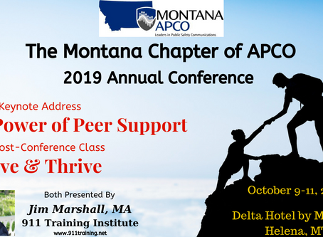 Jim Marshall Set to Keynote the Montana APCO Conference