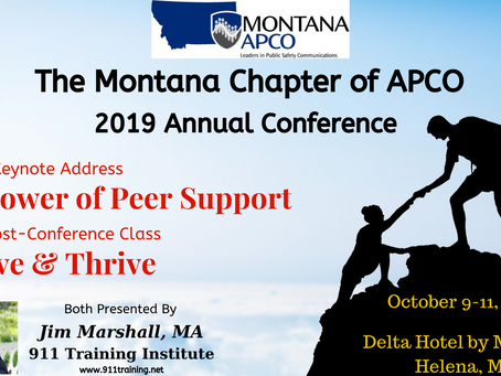 Jim Marshall Set to Keynote the Montana APCO Conference