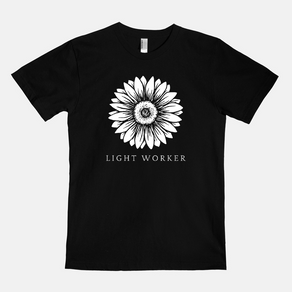 Light Worker Adults T-Shirt
