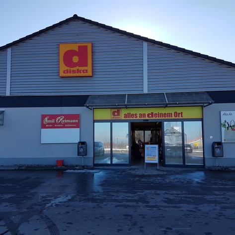 Neugestalltung Diska in Kesselsdorf