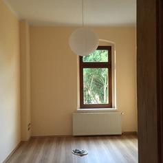 Spachteln von Wänden