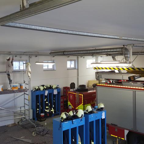 Anstrich Feuerwehdepot Kesselsdorf