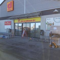 Umbau Diska Markt Kesselsdorf