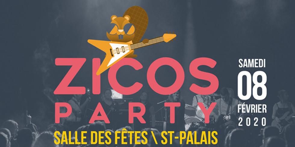 Zicos Party 8 février 2020
