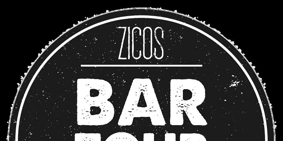 Zicos Bar Tour 2018