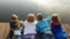 Children practising mindfulness