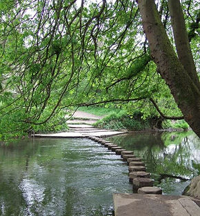 Box Hill Stepping Stones, Surrey