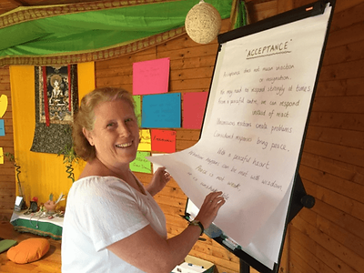 Acceptance meditation, Catherine  Acceptance, Catherine Nasskau, mindfulness teacher