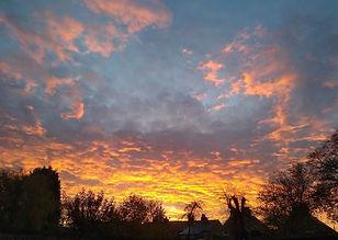 Beautiful sky, Brockham, Surrey