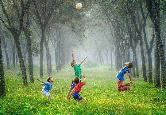 Happy children, Surrey mindfulness