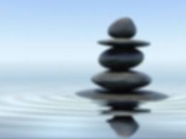 Meditation stone tower
