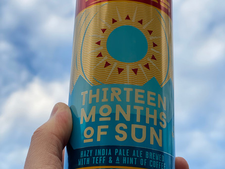 Fifty Eight: Thirteen Months of Sun