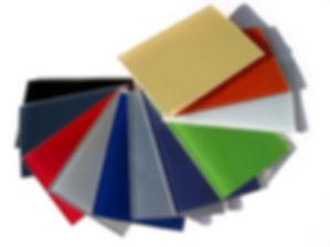 Цветное стекло Локабель, образцы.