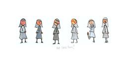 hot cross nuns