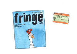 programme and ticket