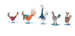 chicken knitwear copy