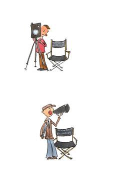 camera man and director