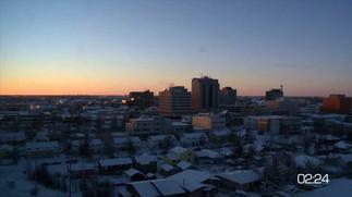 24 Stunden in Yelloknife (Winter)