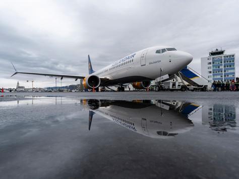 Icelandair stellt erste Boeing 737 MAX 8 vor