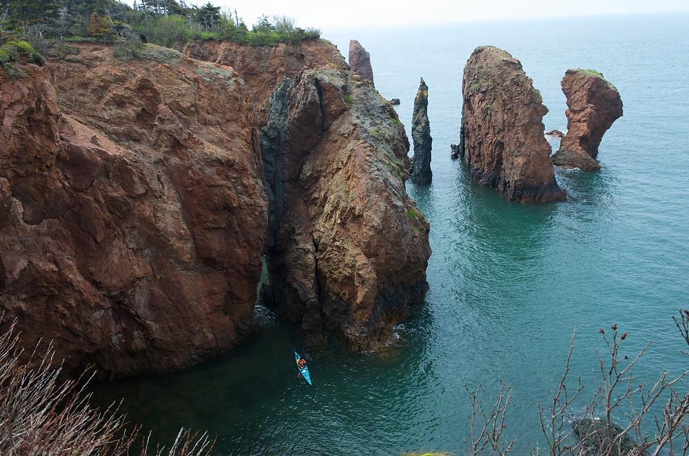 Cape Chignecto Provincial Park / Three sisters © Nova Scotia Tourism