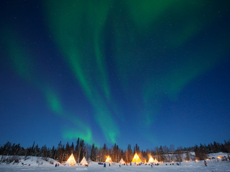 Northwest Territories: Aurora Village ist neue Canadian Signature Experience