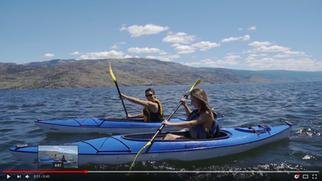 Dive into Okanagan Lake