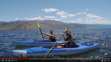 Dive into Okanagan Lake
