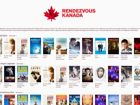 iTunes mit eigenem Store für kanadischen Film
