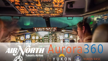 Air North's Aurora 360 Flight to the Lights, Nov 25, 2017