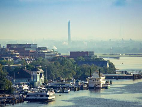 Die US-Hauptstadtregion mit dem Wassertaxi entdecken