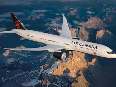 Winter 2018/19: Gratismitnahme von Skigepäck bei Air Canada