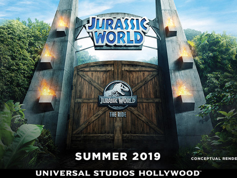 Wiedereröffnung des Jurassic Park – The Ride in den in den Universal Studios Hollywood