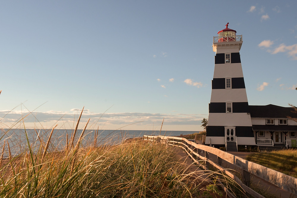 West Point Lighthouse, PEI © Wolfgang Greiner