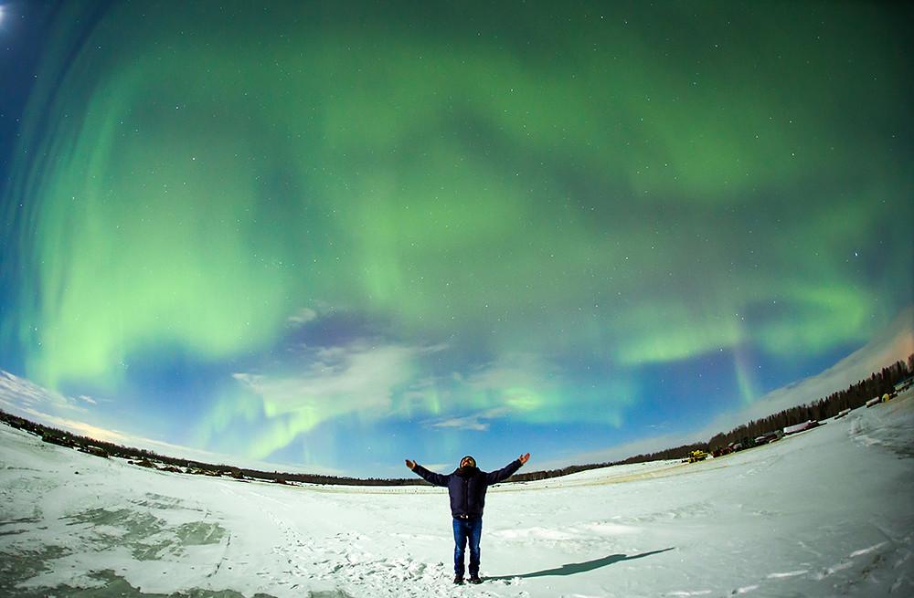 Nordlichter © Travel Alberta