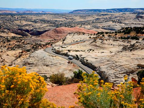 Die schönsten Scenic Byways durch Utah