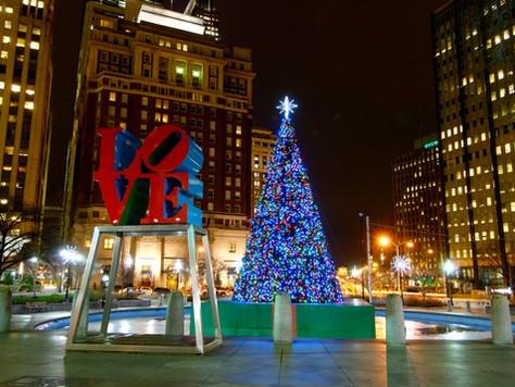 Vorweihnachtszeit in Philadelphia