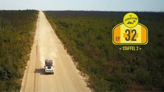 Dempster Highway mit dem Defender (© The Sunnyside)