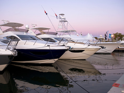 U.S. Sailboat Show und U.S. Powerboat Show an der Chesapeake Bay