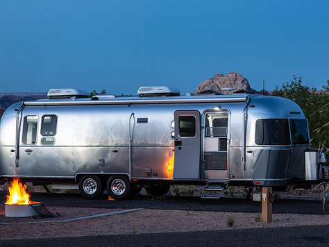 Lake Powell: Glamping im Airstream