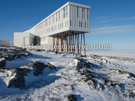 Besondere Winter-Erlebnisse am Ende der Welt im Fogo Island Inn