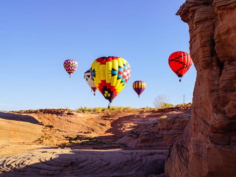 Die Page Lake Powell Balloon Regatta geht in die 16. Runde