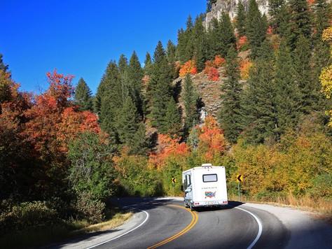 Farbenfrohe Herbstzeit in Utah